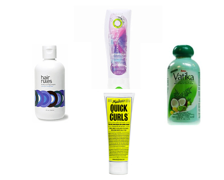 MyCurlyMane.com Product Staples