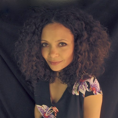 Thandie Newton Goes Natural