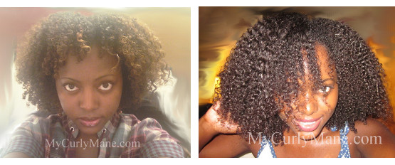 Comparing Curly Hair Growth