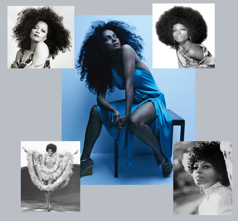 Diana Ross - My Curly Mane's Hair Hall of Fame Inductee