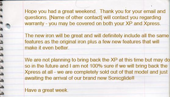 Response from Maxiusbeauty