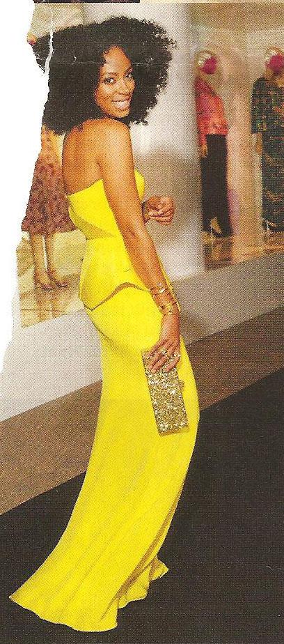 Solange in Vogue's Nov 2012 issue