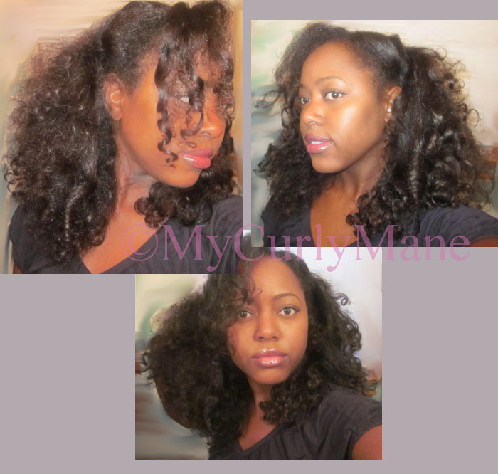 The Gallery For Gt Straightened Natural Hair Before And After