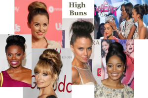High Bun Photos
