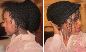 Satin Lined Cap For Natural Hair