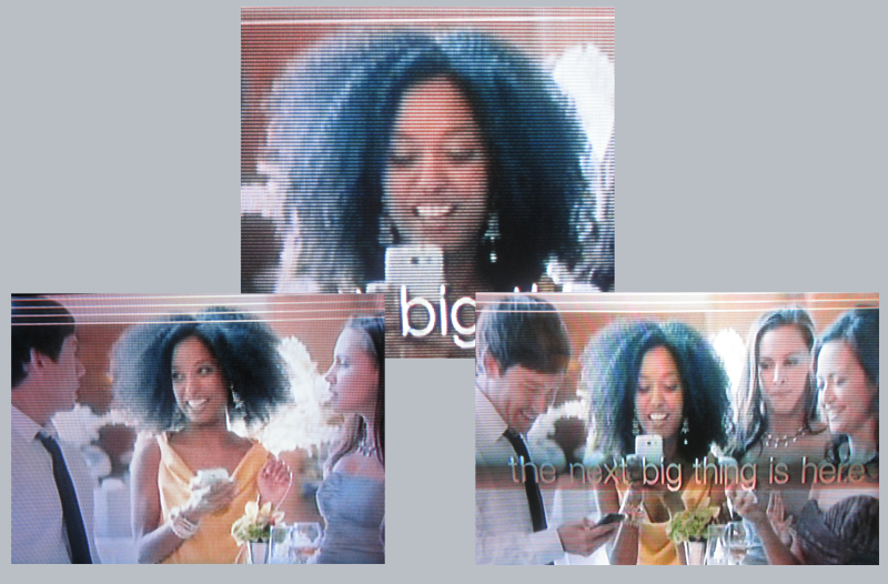 Natural Hair in Samsung S3 Commercial