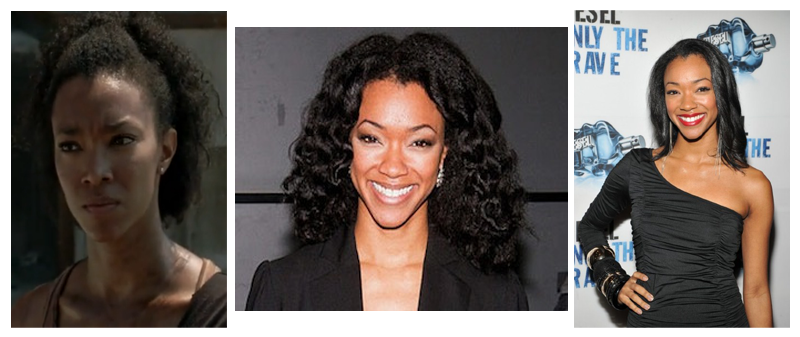 Sonequa Martin Green and natural hair