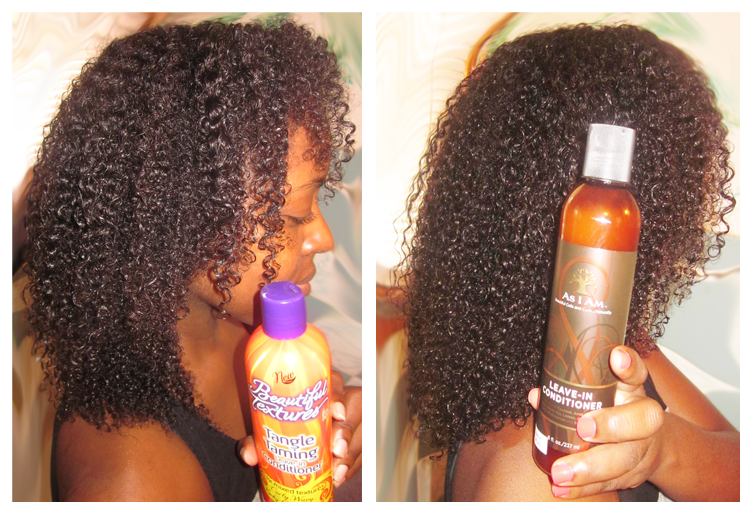 Beautiful Textures Tangle Taming Conditioner vs. As I Am Leave-in Conditioner