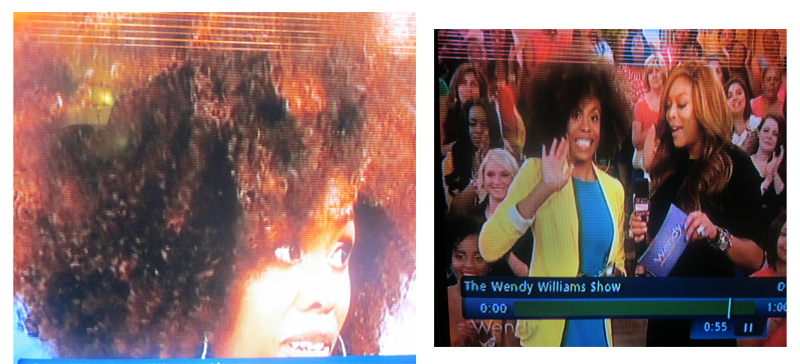 Wendy Williams Audience Member with Natural Hair