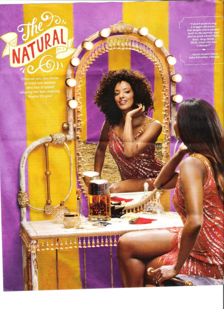 O Magazine Sept 2013 Natural Hair
