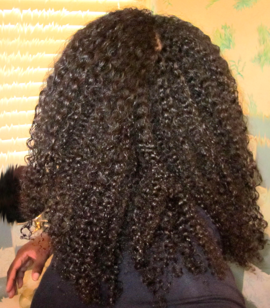 Natural hair wash and go My Curly Mane