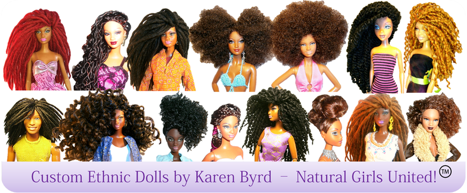 Karen Byrd Natural Hair Dolls